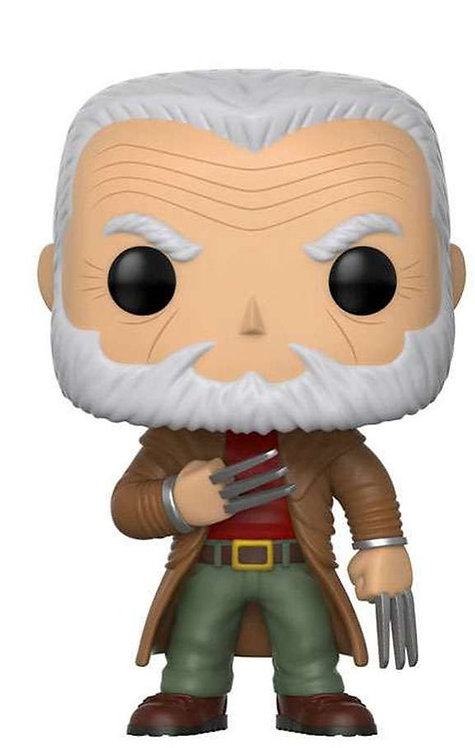 FUNKO POP! MARVEL X-MEN  OLD MAN LOGAN EXCLUSIVE VINYL BOBBLE HEAD #235