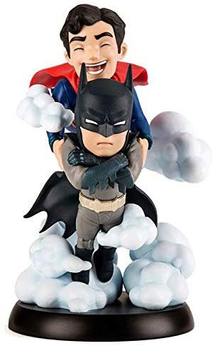 DC COMICS WORLD'S FINEST BATMAN AND SUPERMAN Q-FIG MAX FIGURE