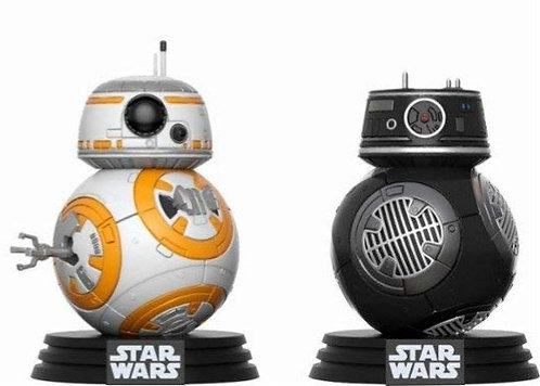 FUNKO POP! FUNKO POP ! BB-8 & BB9 E -  02 PACK