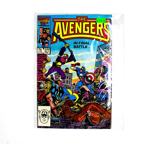 THE AVENGERS NO. 277 MAR