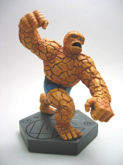 THING STATUE MARVEL FANTASTIC FOUR BY BOWEN DESIGNS