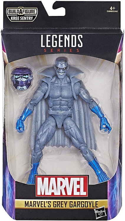GREY GARGOIL -  Marvel Legends Series 6-Inch Build a figure