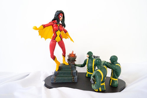 SPIDER-WOMAN MARVEL SELECT COLLECTORS EDITION STATUE