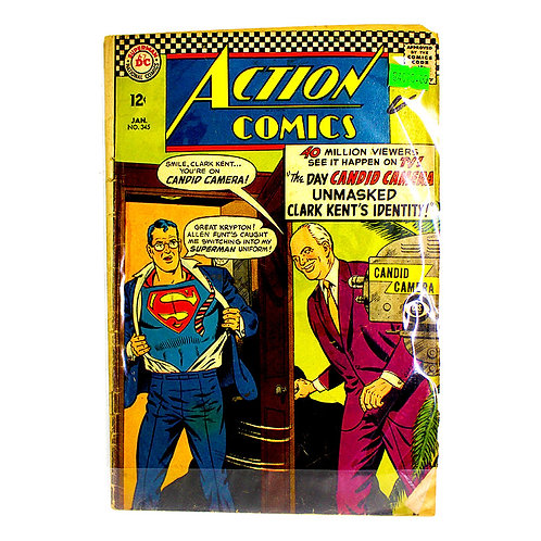 ACTION COMICS SUPERMAN NO.345 JAN
