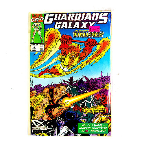 GUARDIANS OF THE GALAXY NO 4 SEPT