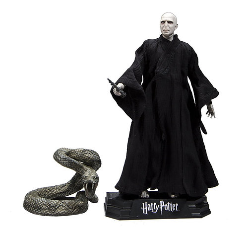 HARRY POTTER SERIES 1: 7-INCH ACTION FIGURE CASE -LORD VOLDEMORT
