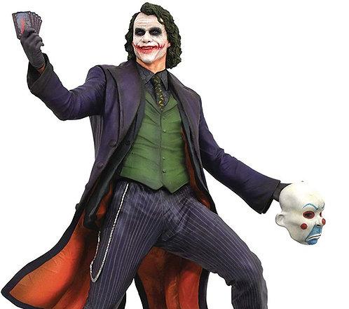 BATMAN DARK KNIGHT - DC GALLERY MOVIE JOKER STATUE HEATH LEDGER