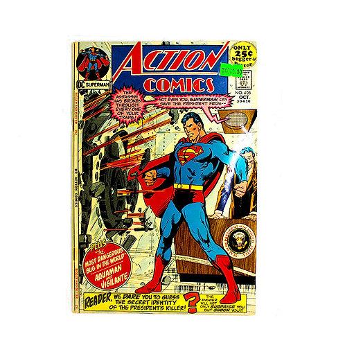 ACTION COMICS SUPERMAN NO. 405 OCT