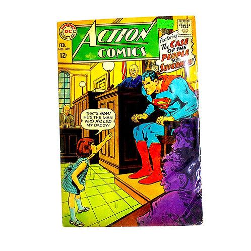 ACTION COMICS SUPERMAN NO.359 FEB