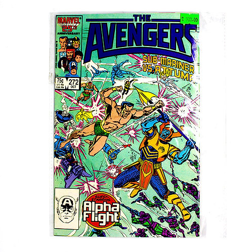 THE AVENGERS NO. 272 OCT