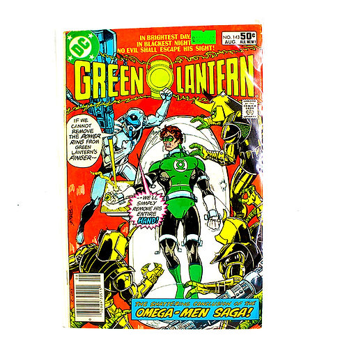 GREEN LANTERN NO 143 AUG