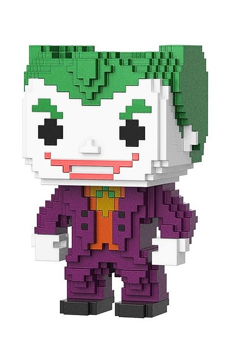 DC SUPER HEROES FUNKO POP! 8-BIT THE JOKER EXCLUSIVE VINYL FIGURE #11