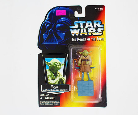 STAR WARS THE POWER OF THE FORCE YODA WITH JEDI TRAINER BACKPACK
