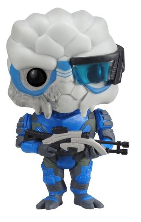 FUNKO POP! GAMES MASS EFFECT - GARRUS VINYL FIGURE #12