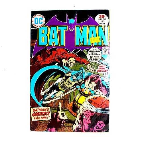 BATMAN NO 265 JULY