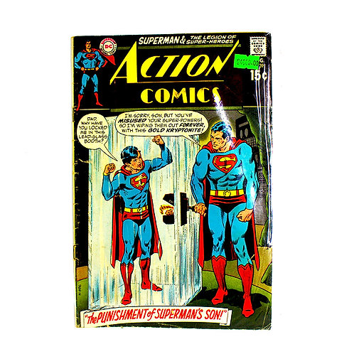 ACTION COMICS SUPERMAN NO. 391 AUG