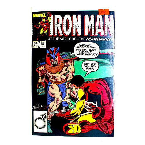 IRON MAN NO. 181 APR