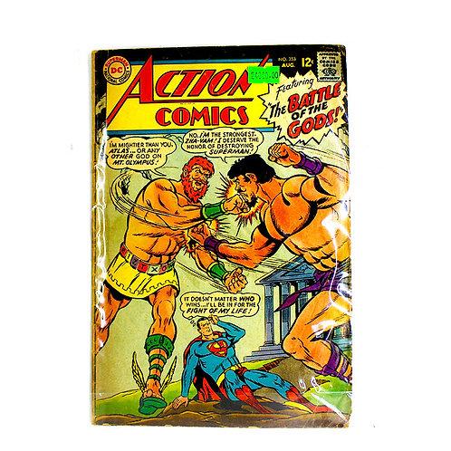 ACTION COMICS SUPERMAN NO.353 AUG