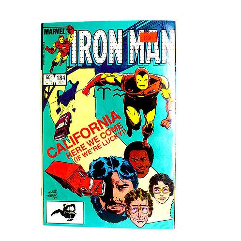 IRON MAN NO. 184 JULY