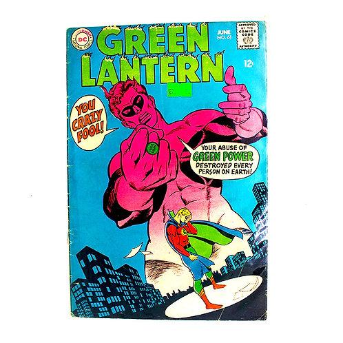 GREEN LANTERN NO 61 JUNE