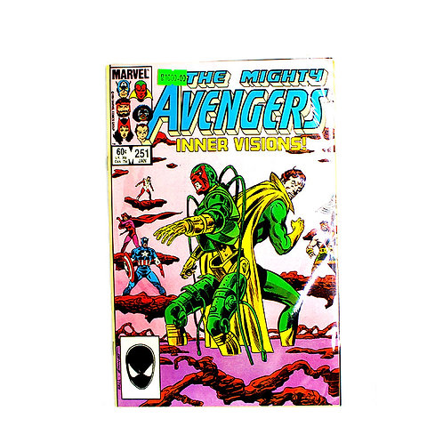 THE MIGHTY AVENGERS NO 251 JAN