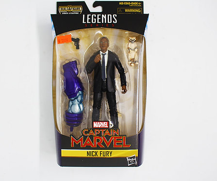 NICK FURY - Marvel Legends Series 6-Inch Build a figure