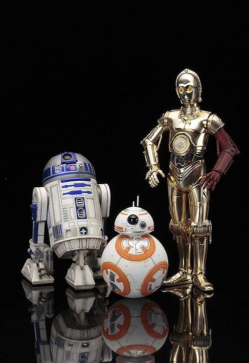 C-3PO R2-D2 AND BB-8 – STAR WARS:THE FORCE AWAKENS ARTFX+ 1:10 SCALE STATUE SET