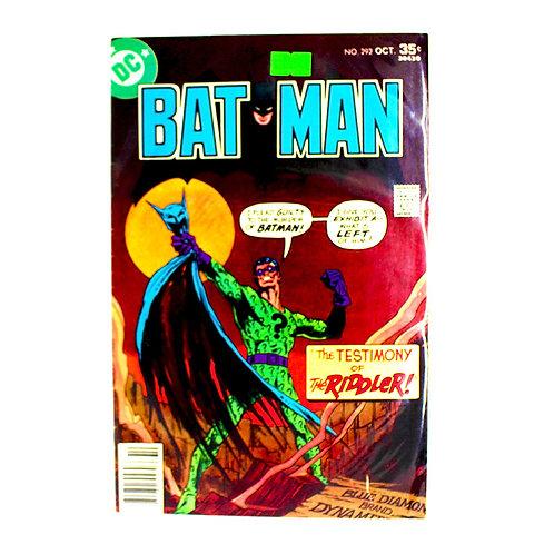 BATMAN NO 296 OCT