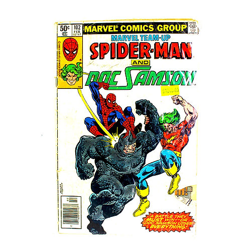 SPIDERMAN NO. 102 FEB