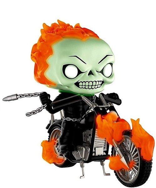 FUNKO POP! RIDES GHOST RIDER WITH BIKE EXCLUSIVE VINYL FIGURE #33