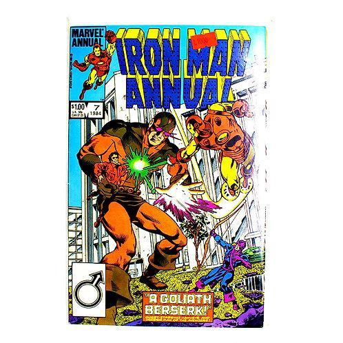 IRON MAN NO. 7 ANNUAL 1984