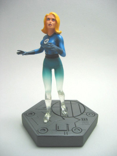 INVISIBLE WOMAN FULL STATUE FANTASTIC FOUR #850/4000