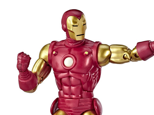 MARVEL LEGENDS 80TH ANNIVERSARY IRON MAN 6-INCH FIGURE