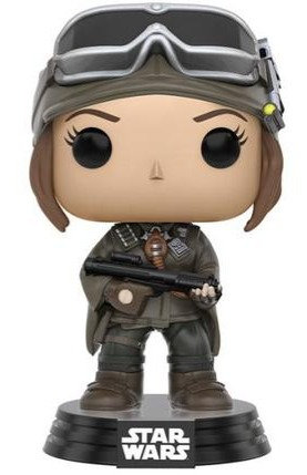 FUNKO POP! STAR WARS JYN ERSO EXCLUSIVE VINYL BOBBLE HEAD #148
