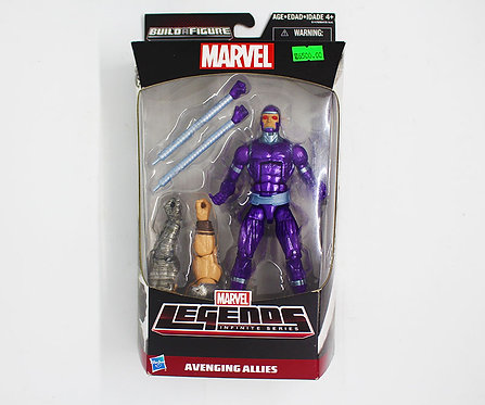 MACHINE MAN - Marvel Legends Series 6-Inch Build a figure
