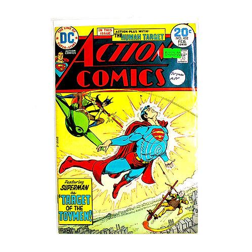 ACTION COMICS SUPERMAN NO.432 FEB