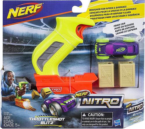 NERF NITRO THROTTLESHOT BLITZ CAR LAUNCHERS