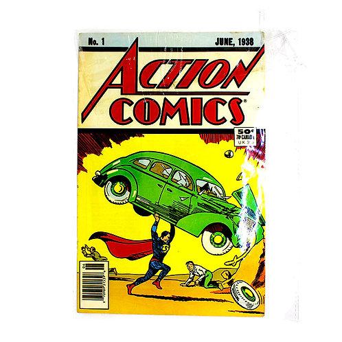 ACTION COMICS SUPERMAN 01 JUNE 1938 RE PRINT
