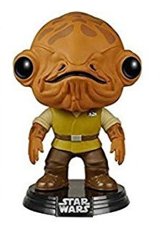 FUNKO POP! STAR WARS EPISODE 7 - ADMIRAL ACKBAR POP VINYL BOBBLE HEAD #81