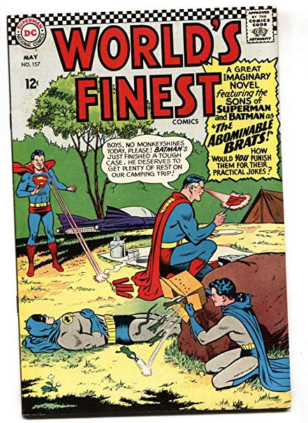 WORLDS FINEST NO. 157 MAY