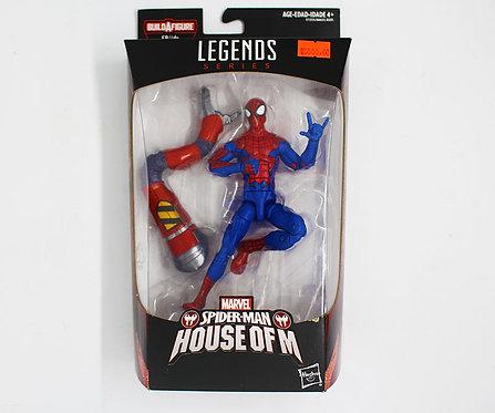 SPIDER MAN - Marvel Legends Series 6-inch Build a figure