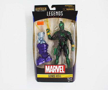 GENIS-VEL - Marvel Legends Series 6-Inch Build a figure