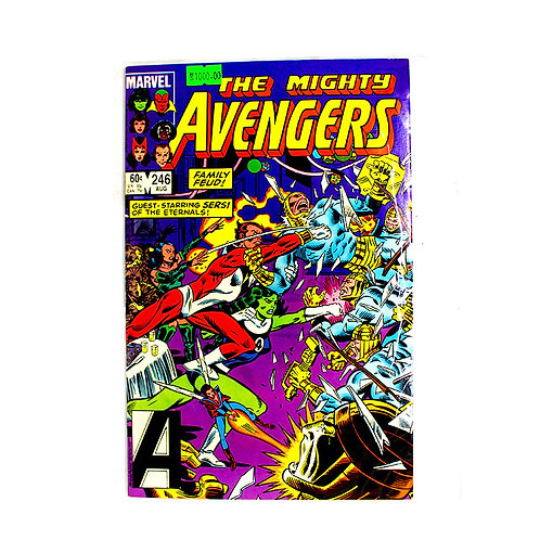 THE MIGHTY AVENGERS NO 246 AUG