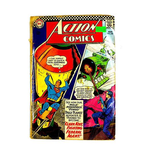 ACTION COMICS SUPERMAN NO.348 MAR