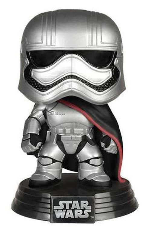 FUNKO POP! STAR WARS THE LAST JEDI  CAPTAIN PHASMA VINYL BOBBLE HEAD #65