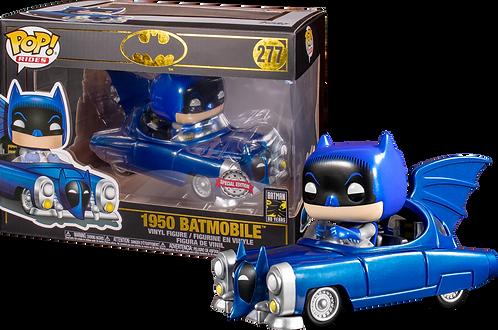 DC BATMAN 80TH FUNKO POP! RIDES 1950 BATMOBILE EXCLUSIVE VINYL FIGURE [BLUE]