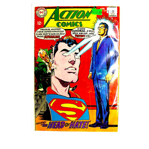 ACTION COMICS SUPERMAN NO. 362 APR