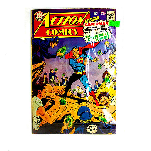 ACTION COMICS SUPERMAN NO.357 DEC
