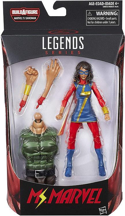 MS MARVEL - Marvel Legends Series 6-Inch Build a figure