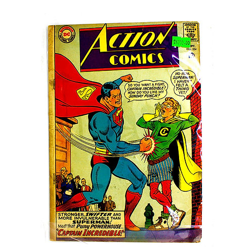 ACTION COMICS SUPERMAN NO.354 SEP